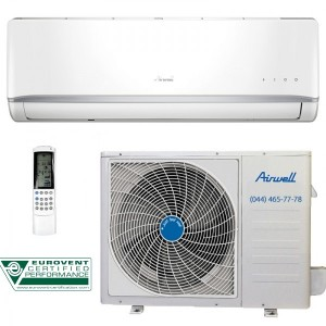 heat pump air to air airwell hkd ykd012 inverter france ligajos technika. Black Bedroom Furniture Sets. Home Design Ideas